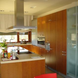 Cocina diseñada por Santos Gijón MARINA